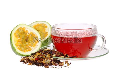 tea passion fruit tea from