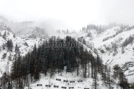 alpine scene italy