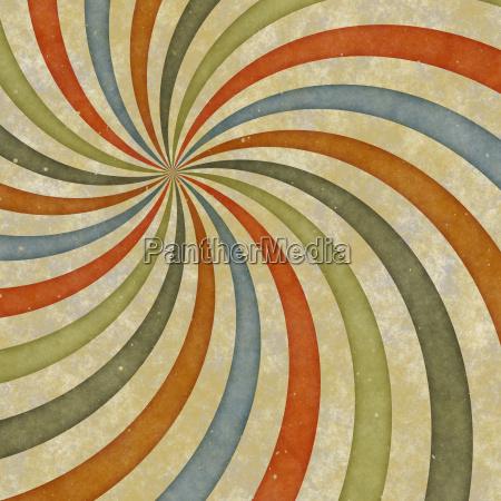 sixties, style, grungy, sunburst, swirl - 4346305
