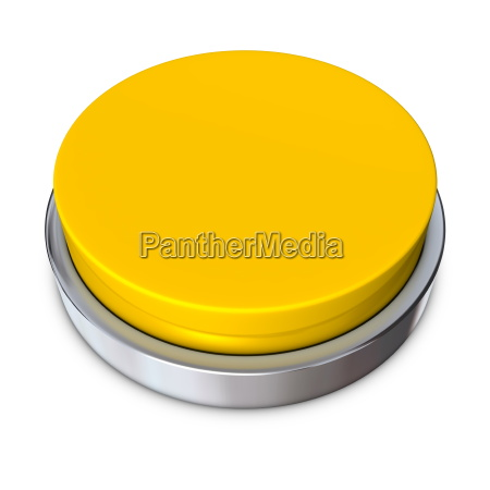 yellow round button with metallic ring