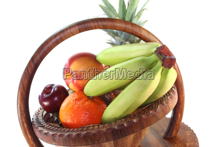 fruit mix in the basket