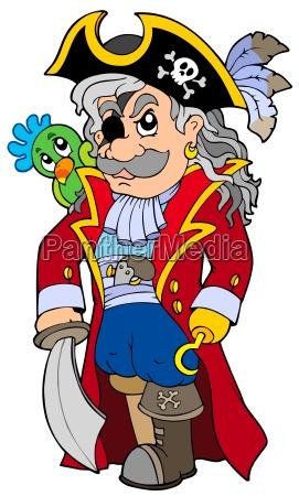 cartoon noble corsair