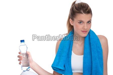 fitness young sportive woman with