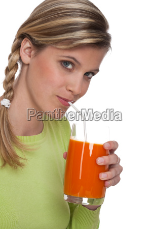 healthy lifestyle series young woman