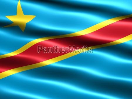 flag of the democratic republic of