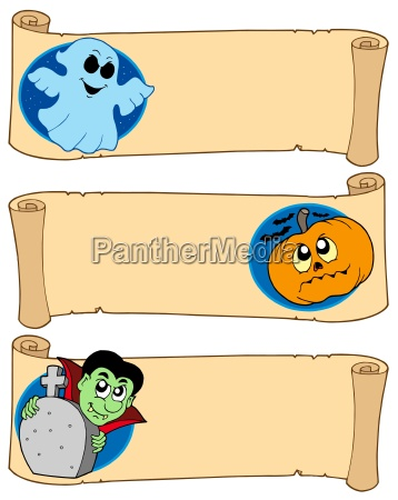 halloween banners collection 4