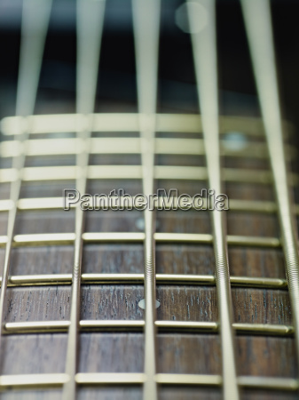 detail, of, electric, bass, cords, and - 4413541