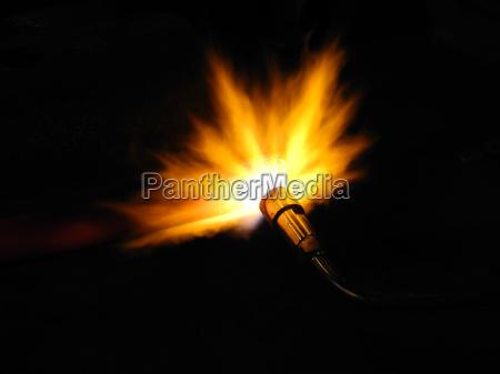 burning a sheet pile