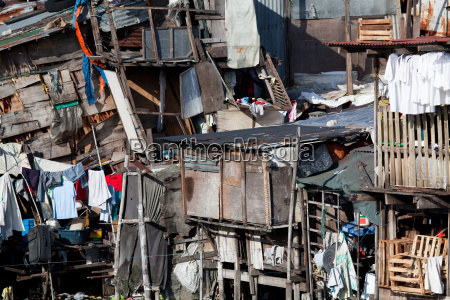 shanty squatter housing in asia