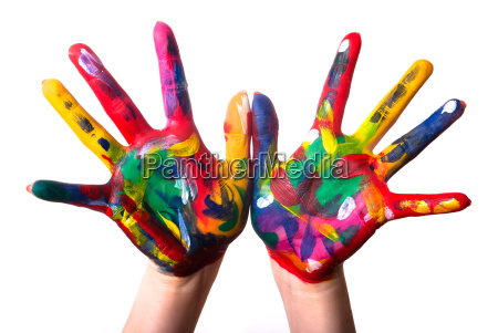 two colorful hands v3
