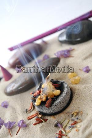 burn incense