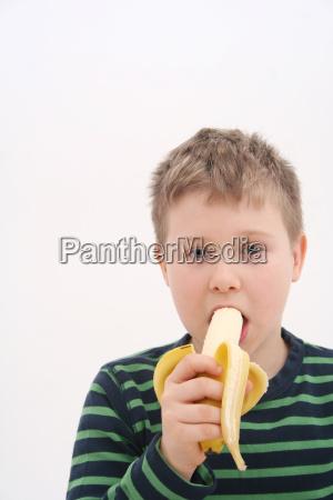 banana eating