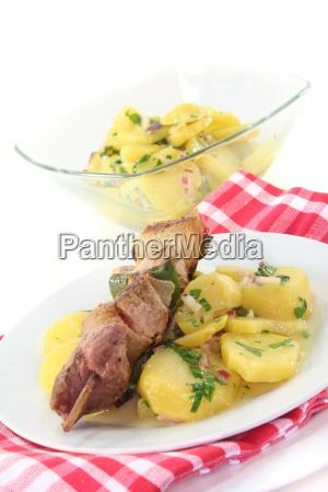 paprika peppers potato salad pork salad