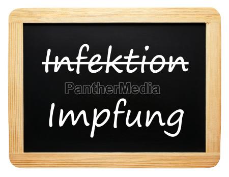infection vaccination concept medicine