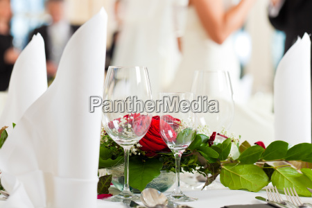 wedding table at a wedding reception