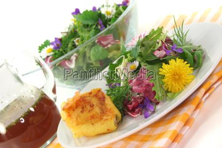 culinary herbs vegetarian goat cheese herbs