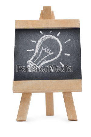 chalkboard with a draw on it