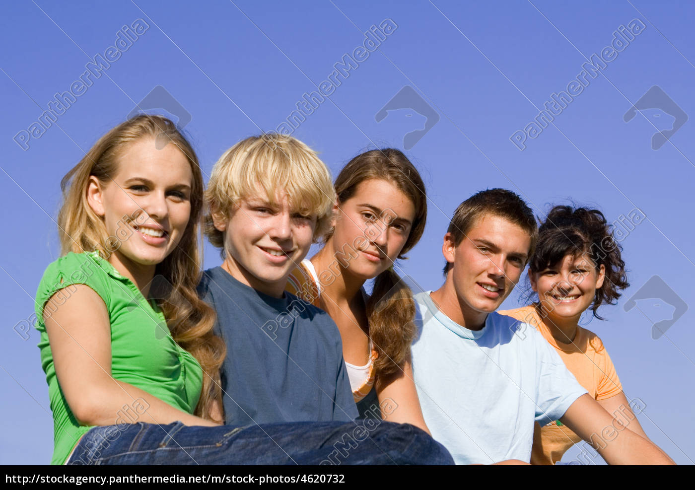 group, of, happy, smiling, , youth - 4620732