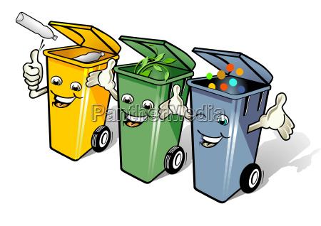 separate waste