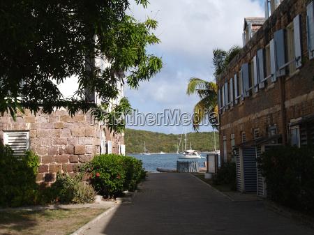 english harbour in antigua barbuda