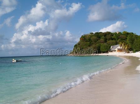 long bay beach on antigua barbuda