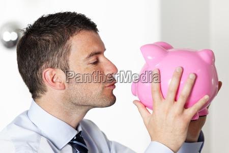 kinssing piggy bank