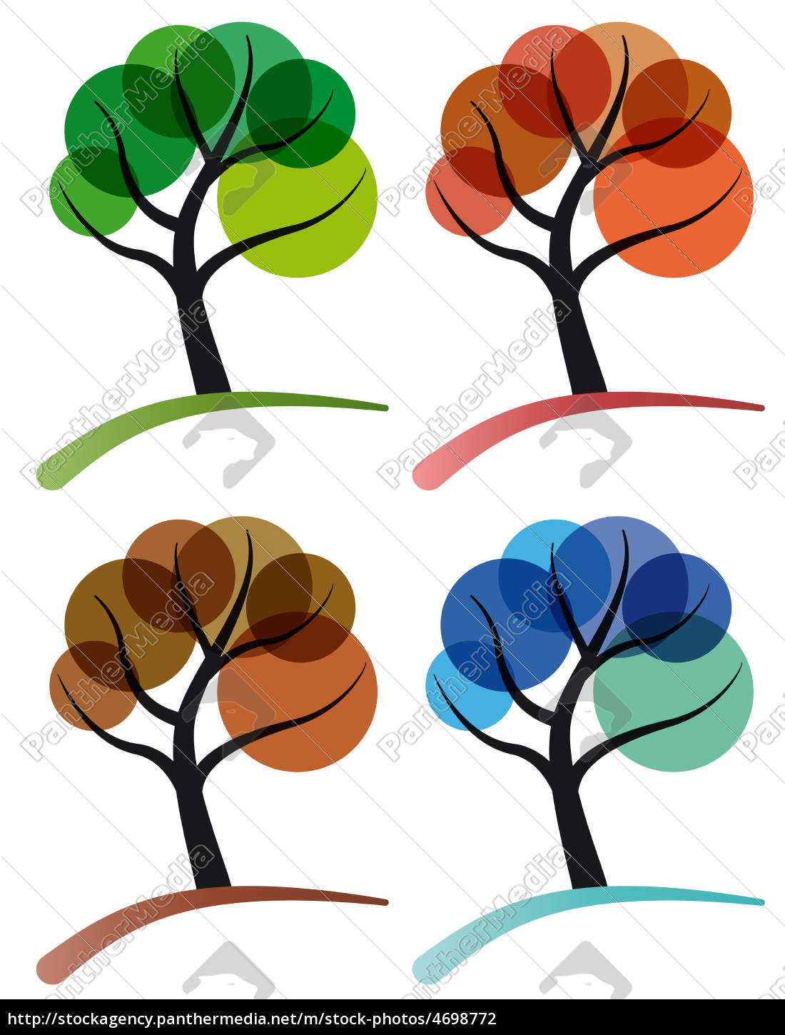 tree, four, seasons - 4698772