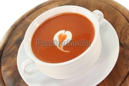 cream tomatoes tomatos tomato soup pottage