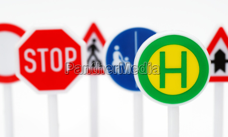 stop traffic signs