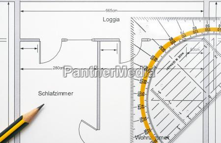floor plan apartment ground plan