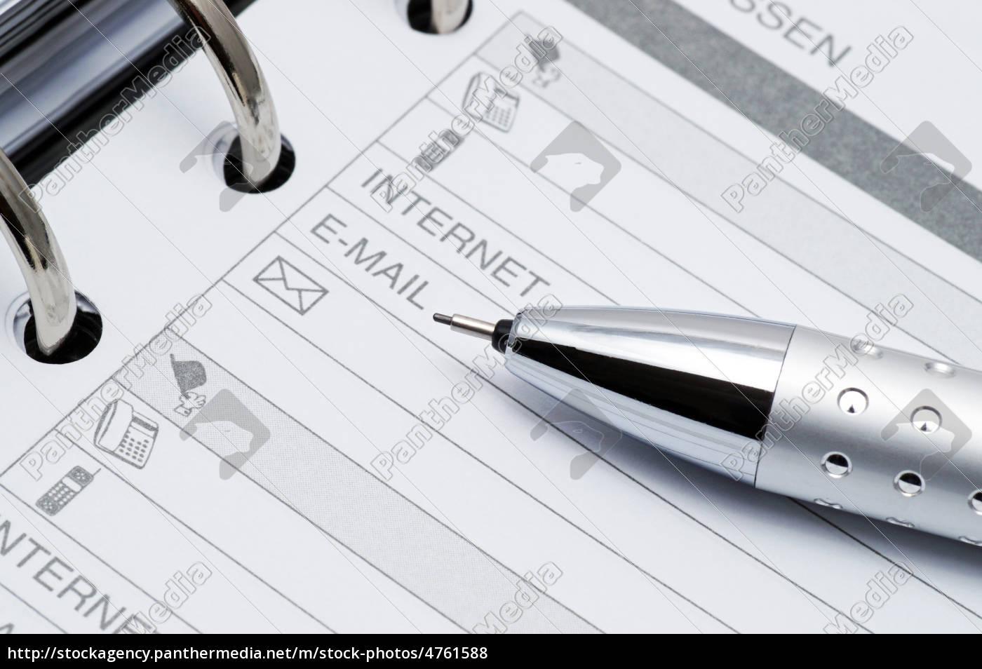 directory, close-up, -, macro, address - 4761588