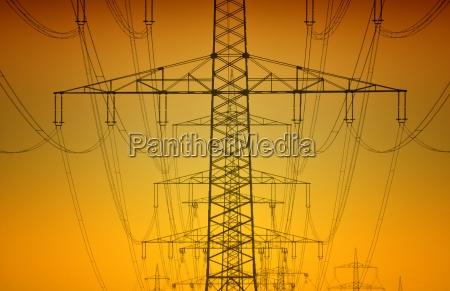 linea de transmision de electricidad