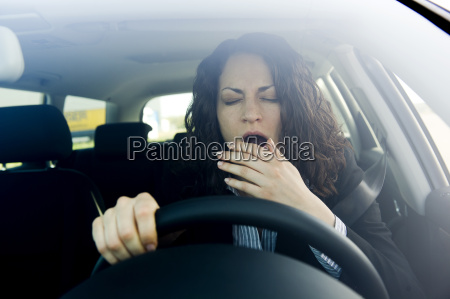 fatigue while driving