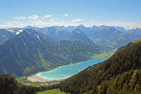 alps austrians mountain lake mountain oesterreich