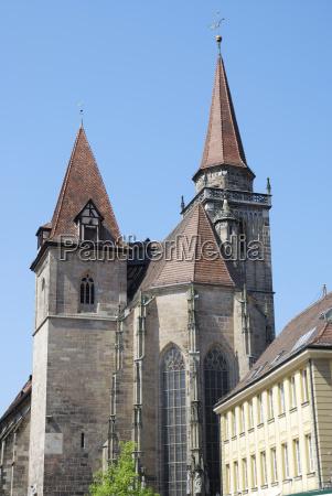 st johannis church in ansbach