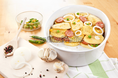 baked potatoes in bowl