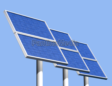 group of solar panels on a