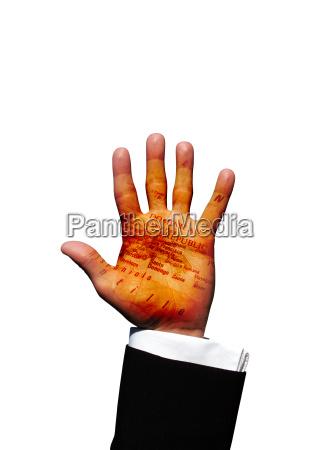 dominican republic hand