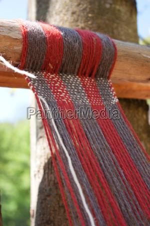 medieval loom