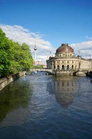 bode museum on museum island in