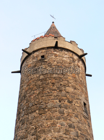 wendish tower in bautzen