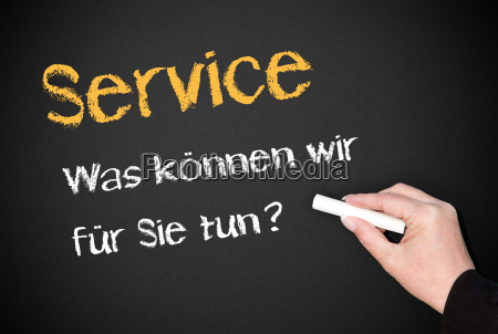 service what can we do