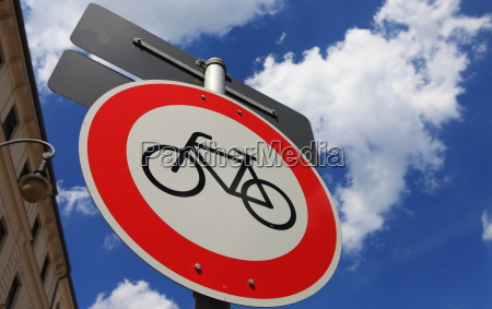 prohibition for cyclists