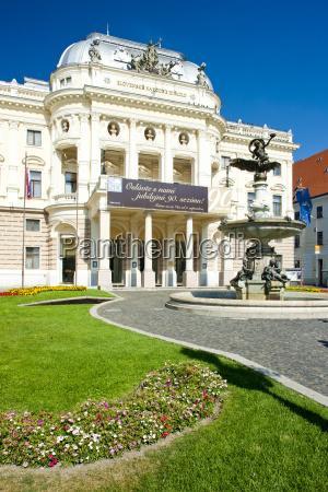 slovak national theatre bratislava slovakia
