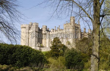 arundel castle west sussex england