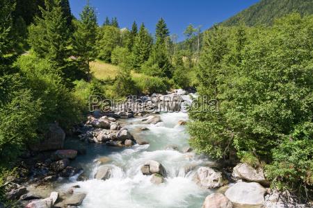 vermigliana stream trentino italy