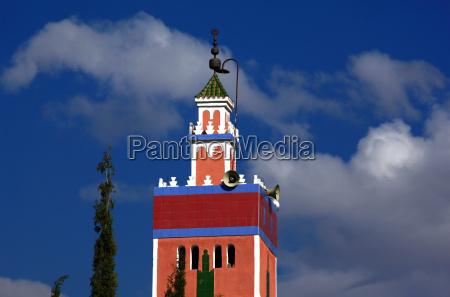 minaret in morocco