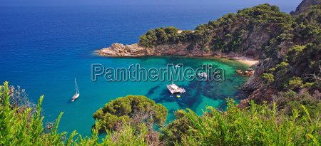 romantic coast of costa brava