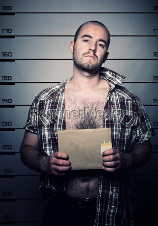 man arrested photo