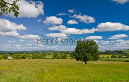 view of the hilly landscape in